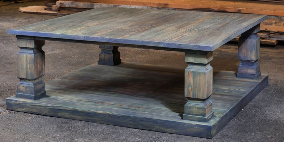 Charming Slate Gray Coffee Table 920x455. Armored Frog Old Wood New Designs