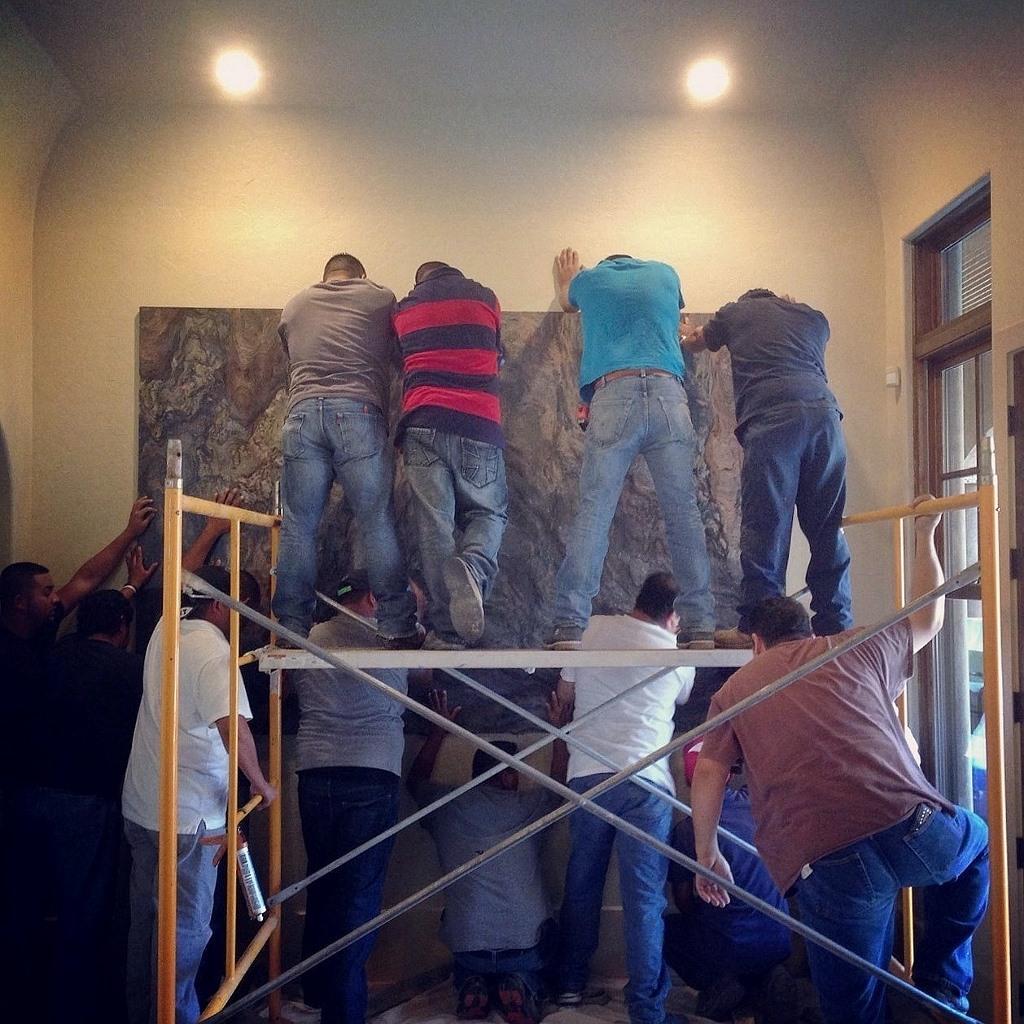 Quartzite Art Installation