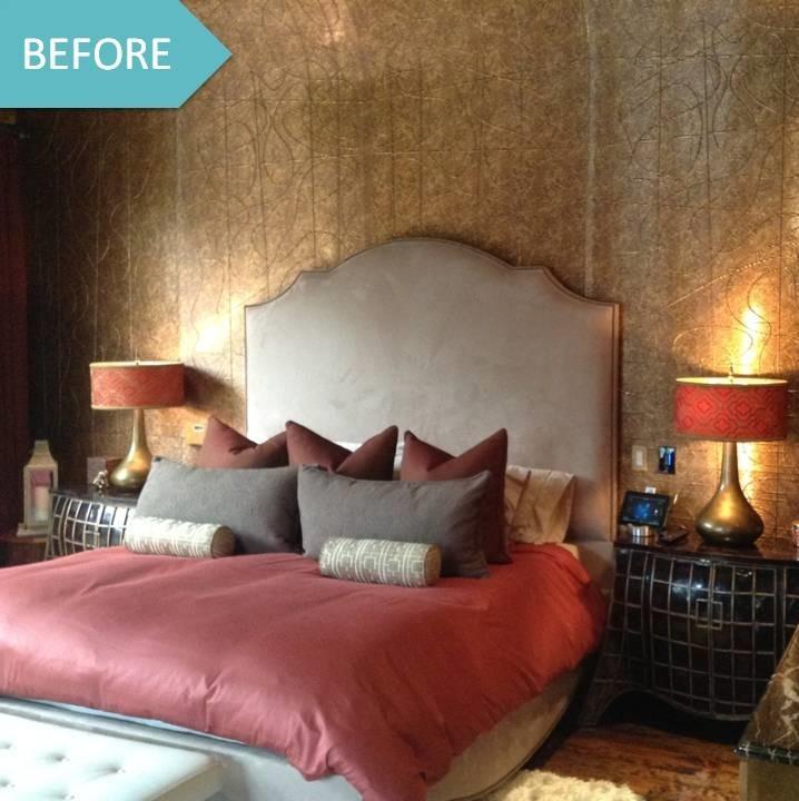 Moroccan Bedroom before