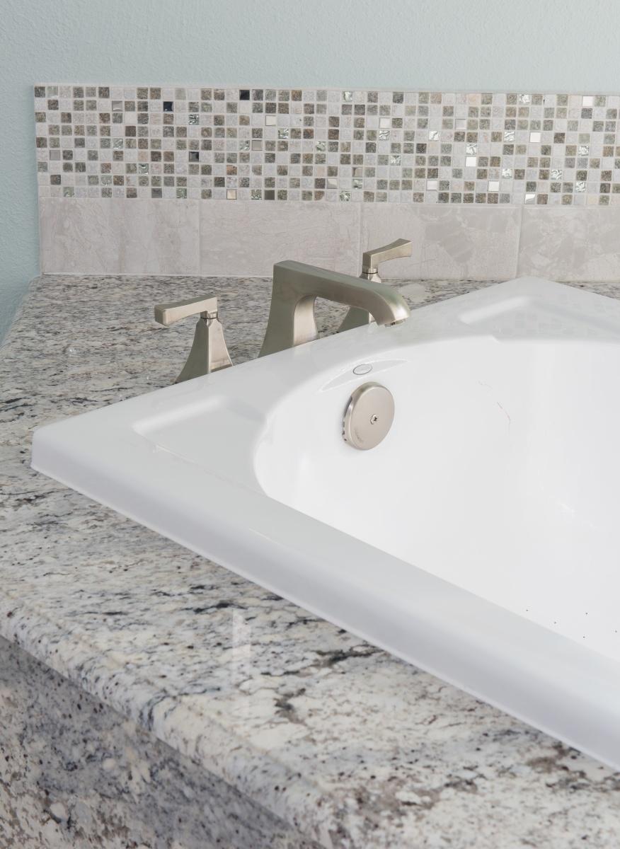 spa-inspired master bathroom