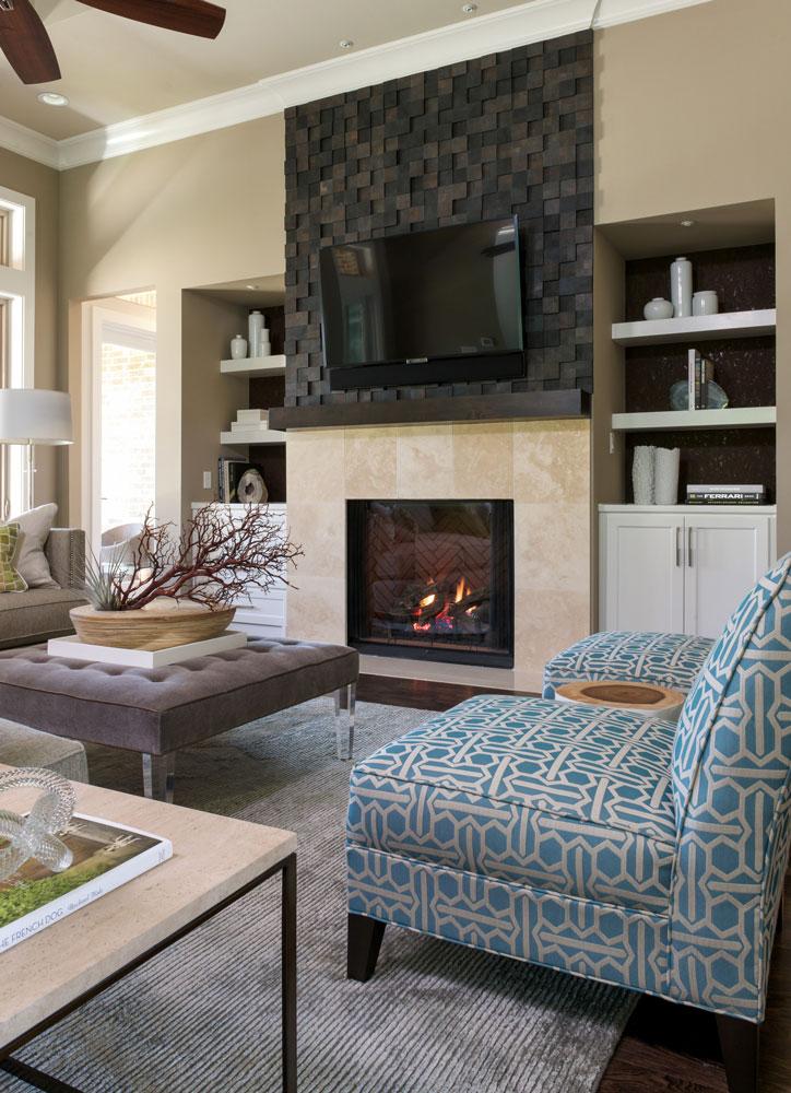 Village Park Eco Home | Interior Design Dallas | Barbara Gilbert ...