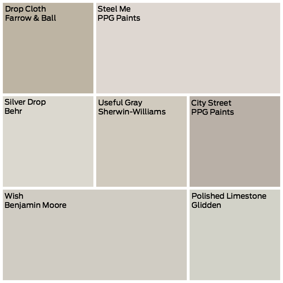 Glidden Greige Paint Colors