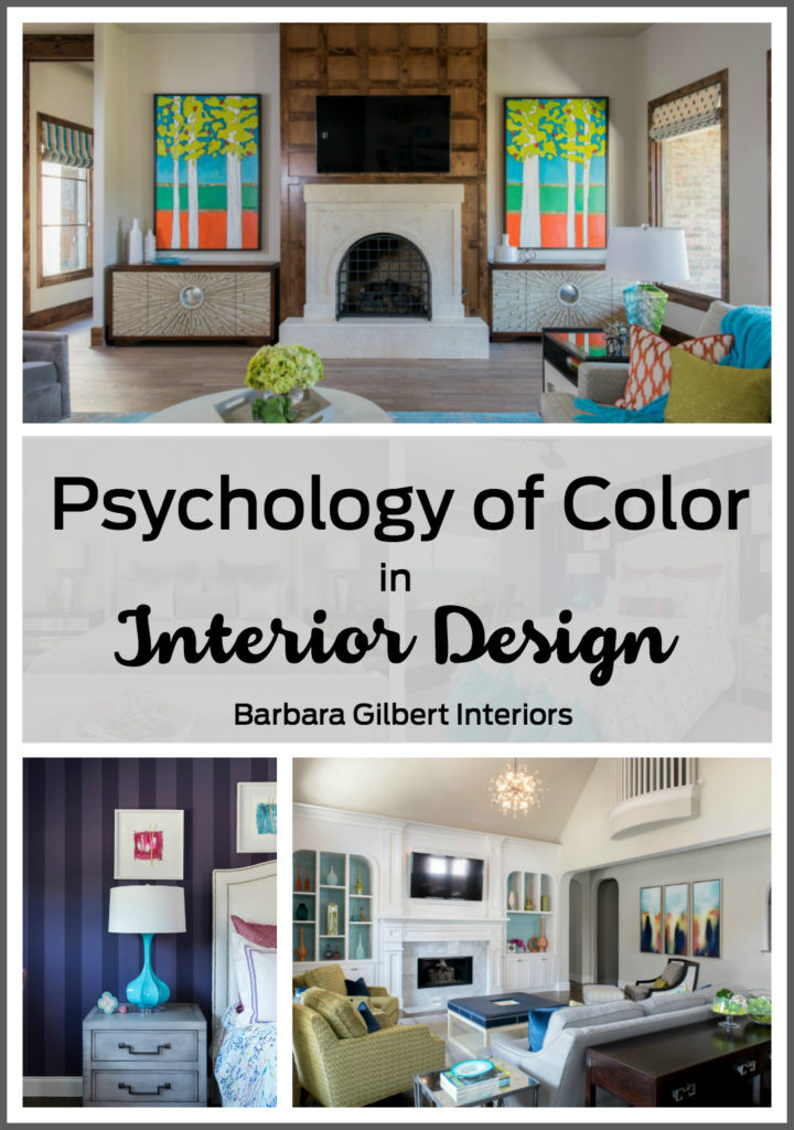 The psychology of color in interior design barbara
