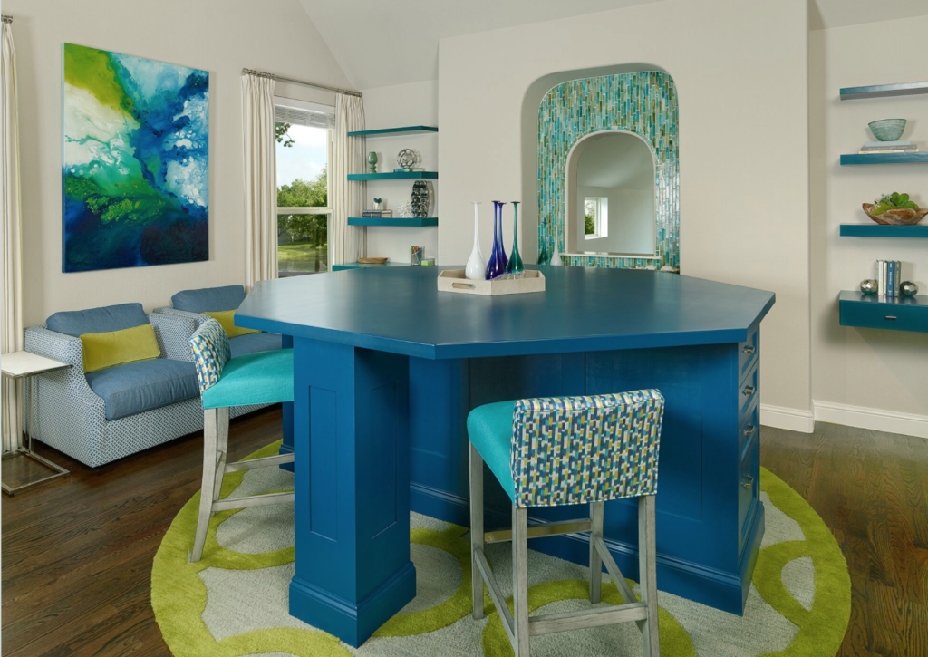 First Look At A Colorful Frisco Home Barbara Gilbert