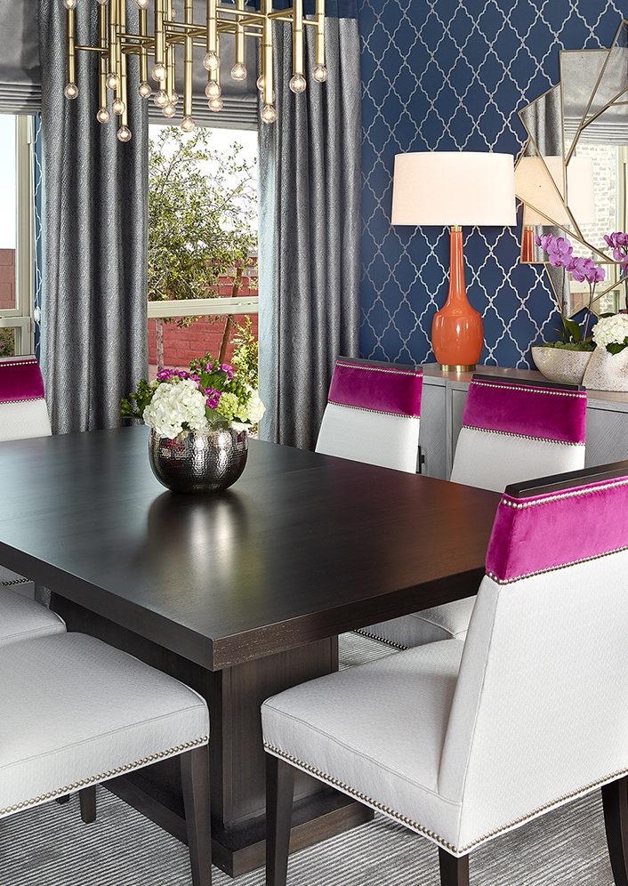 Interior Design Dallas Dining Room by Barbara Gilbert