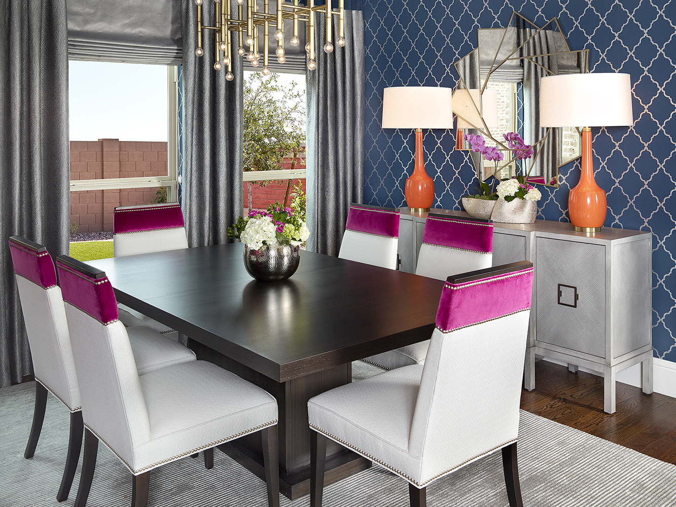 Interior Design Dallas Dining Room By Barbara Gilbert