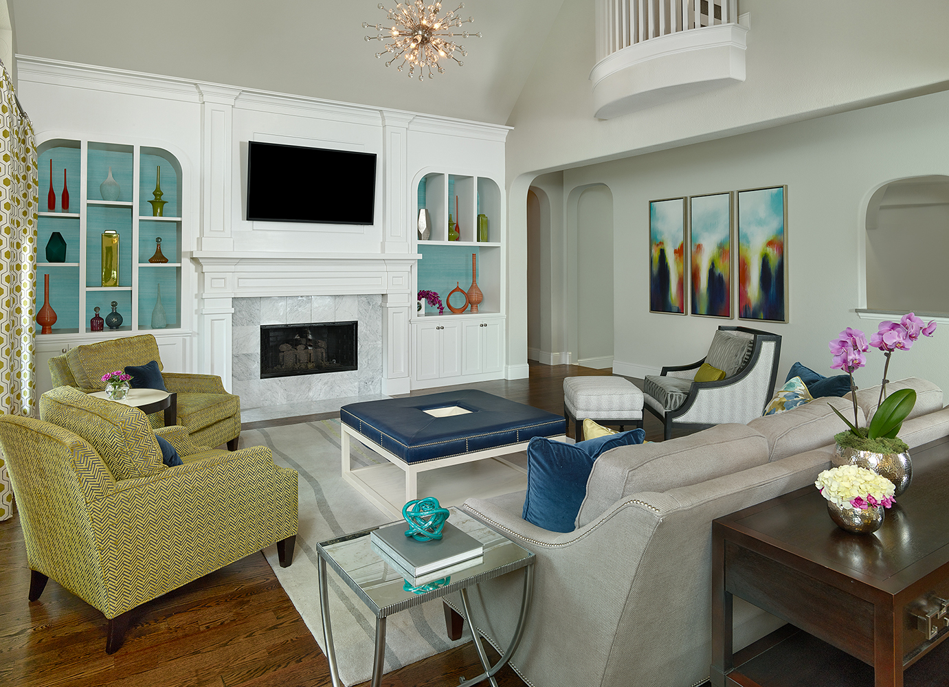 Interior Design Dallas Living Room By Barbara Gilbert