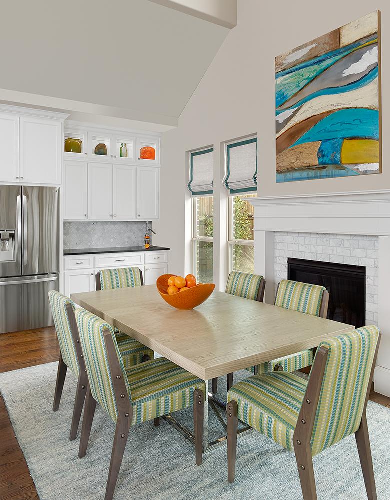 Interior Design Dallas Breakfast Room by Barbara Gilbert