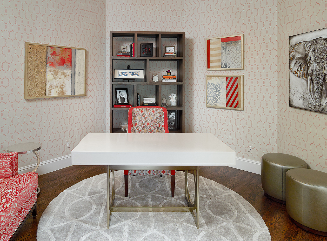 Interior Design Dallas Study by Barbara Gilbert