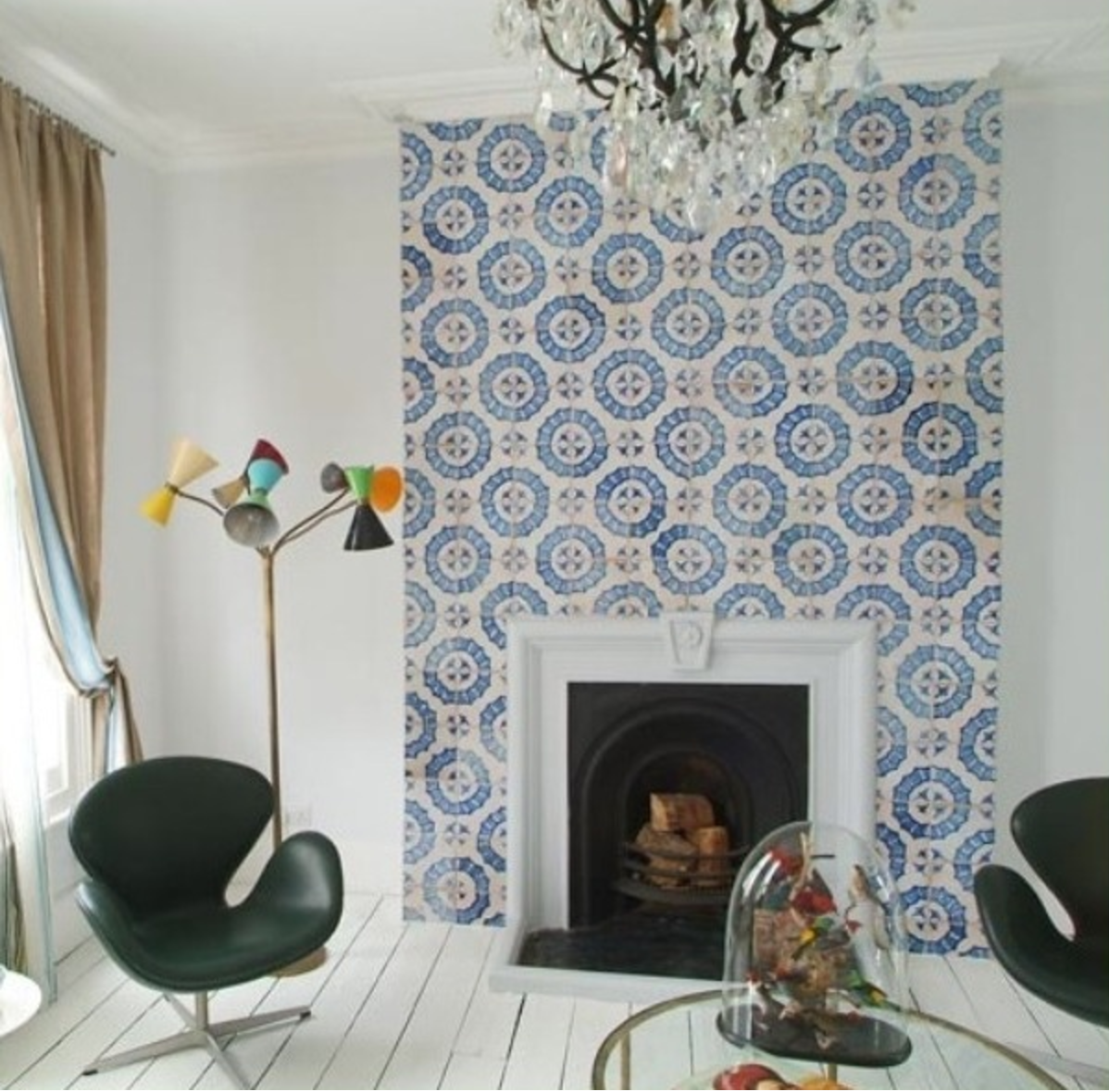 Residential Design Cement Tile | Interior Design Dallas | Barbara Gilbert Interiors