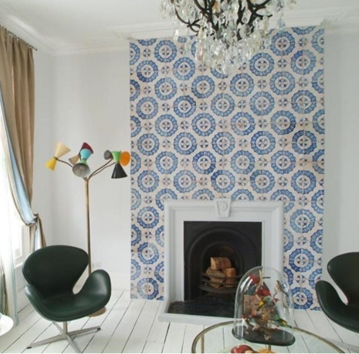 Residential Design Cement Tile   Interior Design Dallas   Barbara Gilbert Interiors