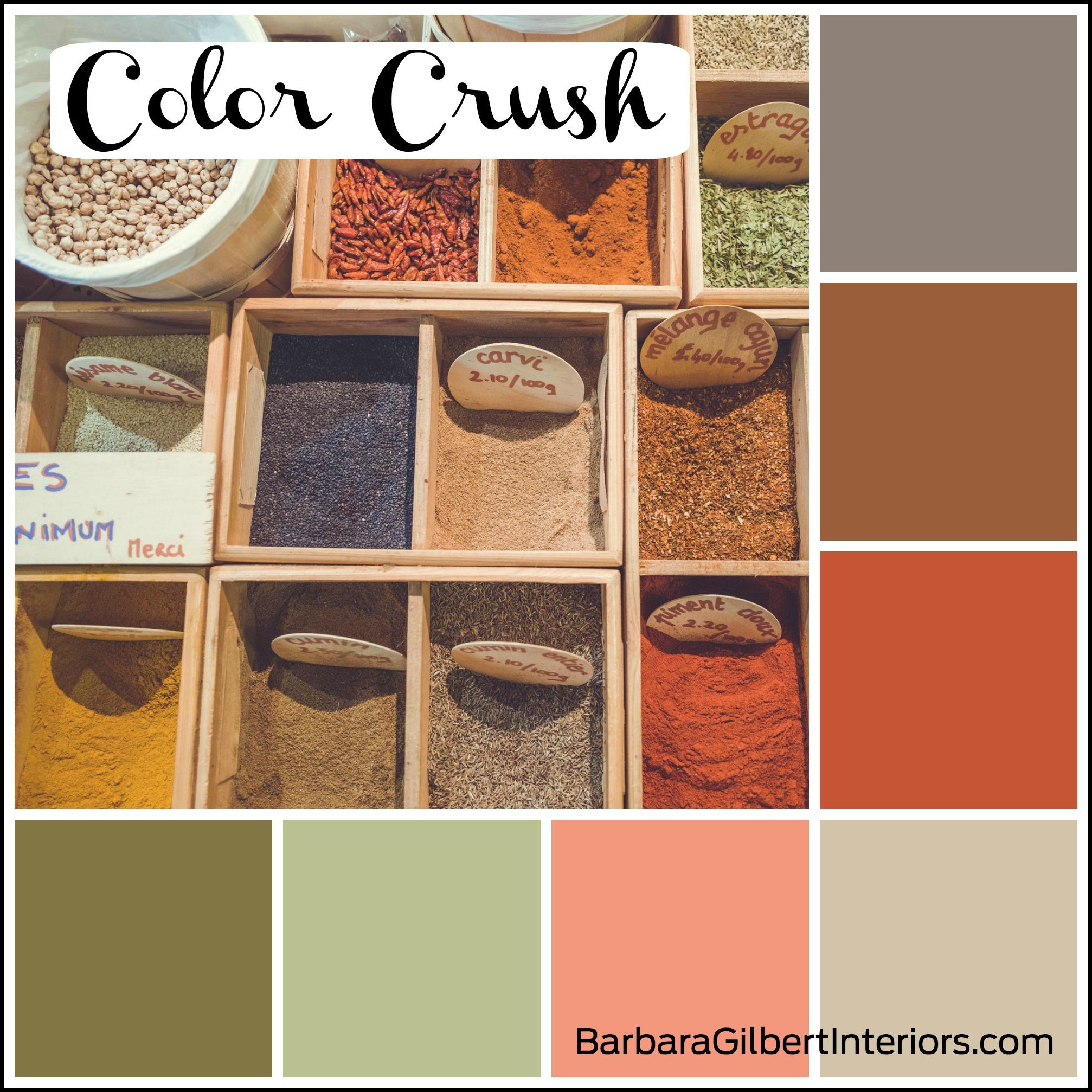 Color Crush: Spice Market   Interior Design Dallas   Barbara Gilbert Interiors