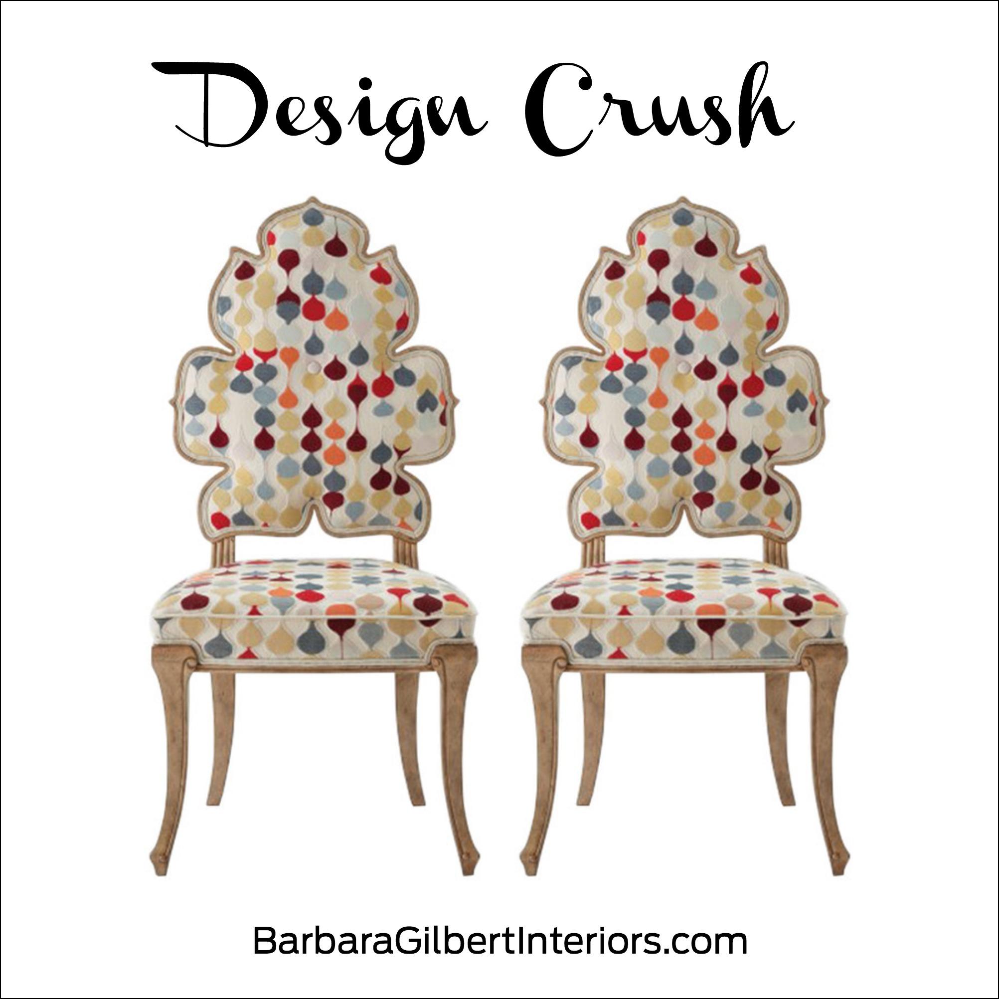 Design Crush: Wiggle Dining Chair | Interior Design Dallas | Barbara Gilbert Interiors
