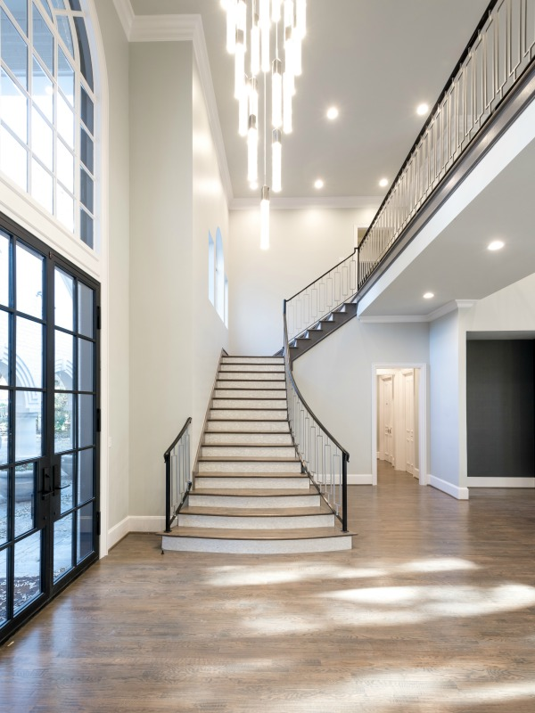 First look a west plano luxury house with contemporary stylings plano interior designer for Interior design services plano