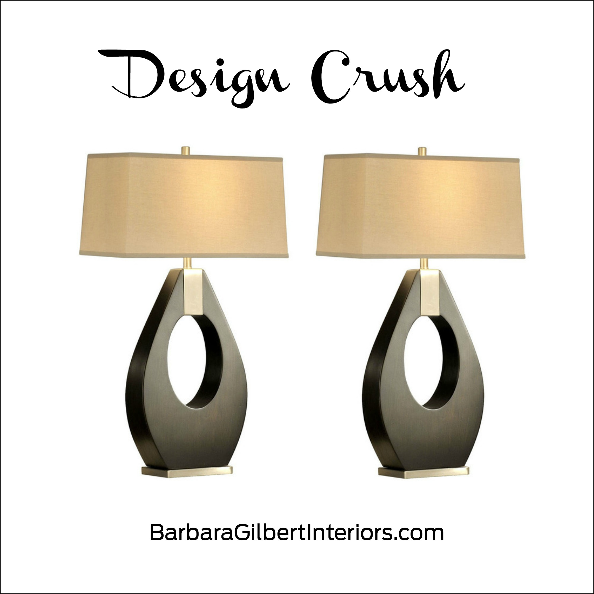 Design Crush: Pera Table Lamp | Interior Design Dallas | Barbara Gilbert Interiors