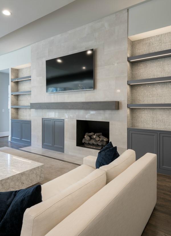First Look: A West Plano Luxury House with Soft Contemporary Stylings   Plano Interior Designer   Barbara Gilbert Interiors