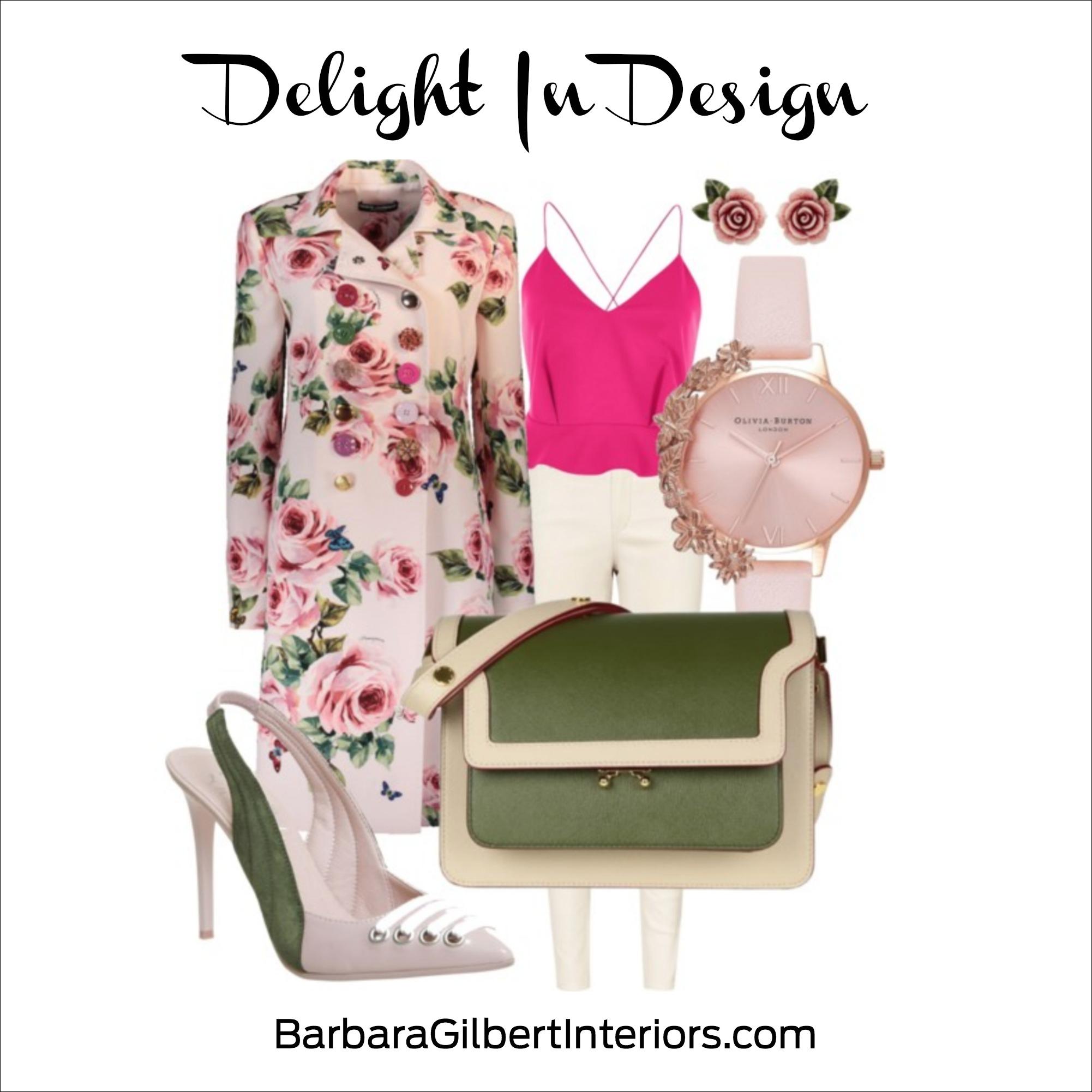 Delight in Design: Spring Fashion | Dallas Interior Designer | Barbara Gilbert Interiors