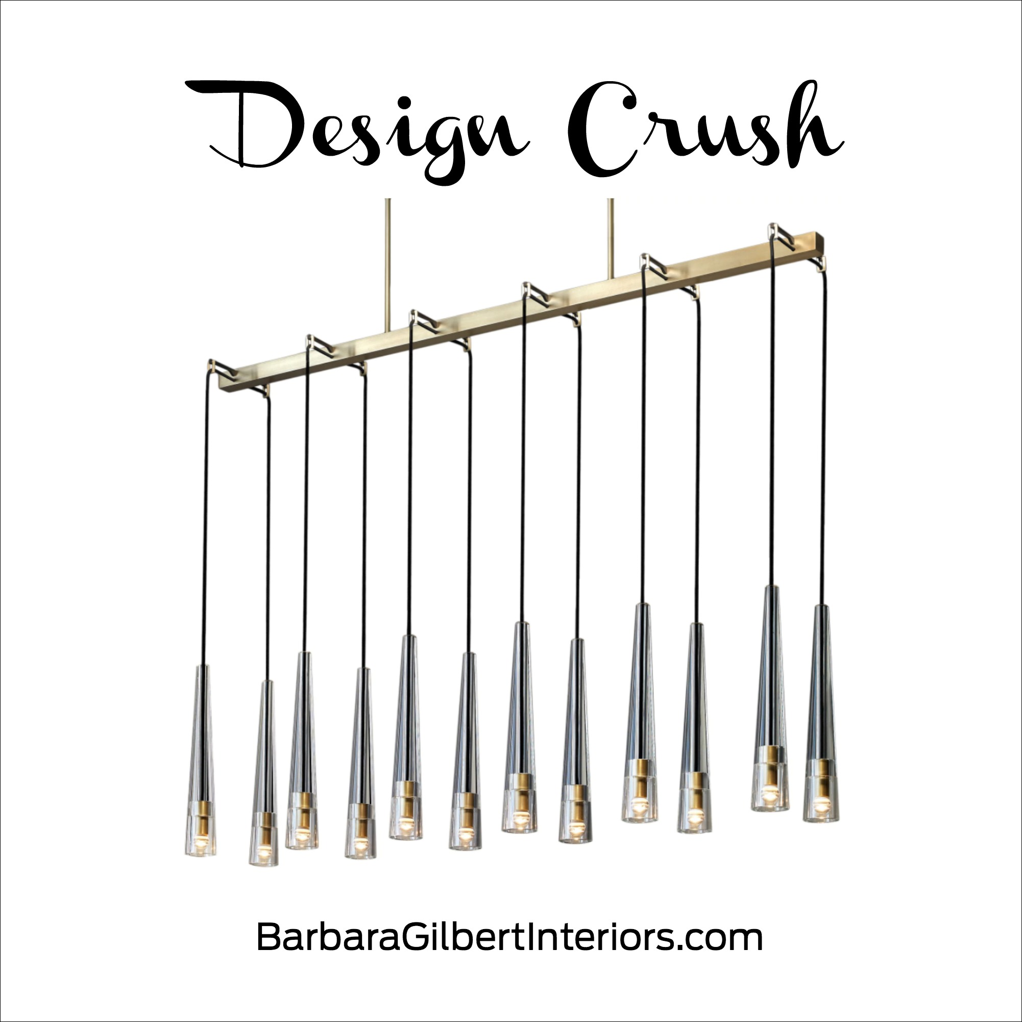 Design Crush: JBS Apollinaire Chandelier | Interior Design Dallas | Barbara Gilbert Interiors