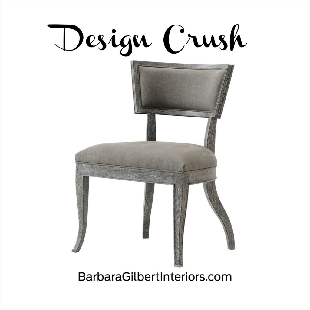 Design Crush: Sadowa Side Chair | Interior Design Dallas | Barbara Gilbert Interiors