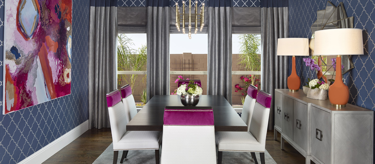 Elegant Dining Room Interior Design Dallas