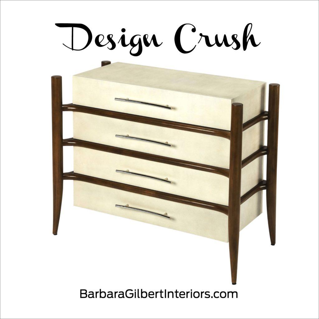 Design Crush: Midcentury Modern Dresser | Interior Design Dallas | Barbara Gilbert Interiors