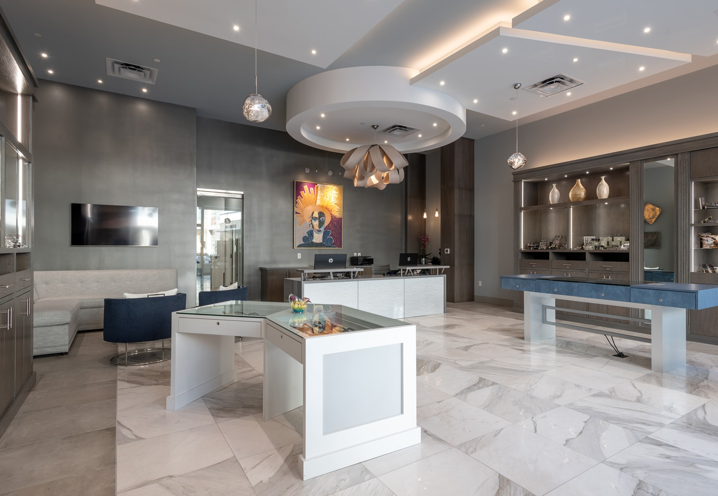 spectacles-legacy-west-plano-tx-showroom-furnishings
