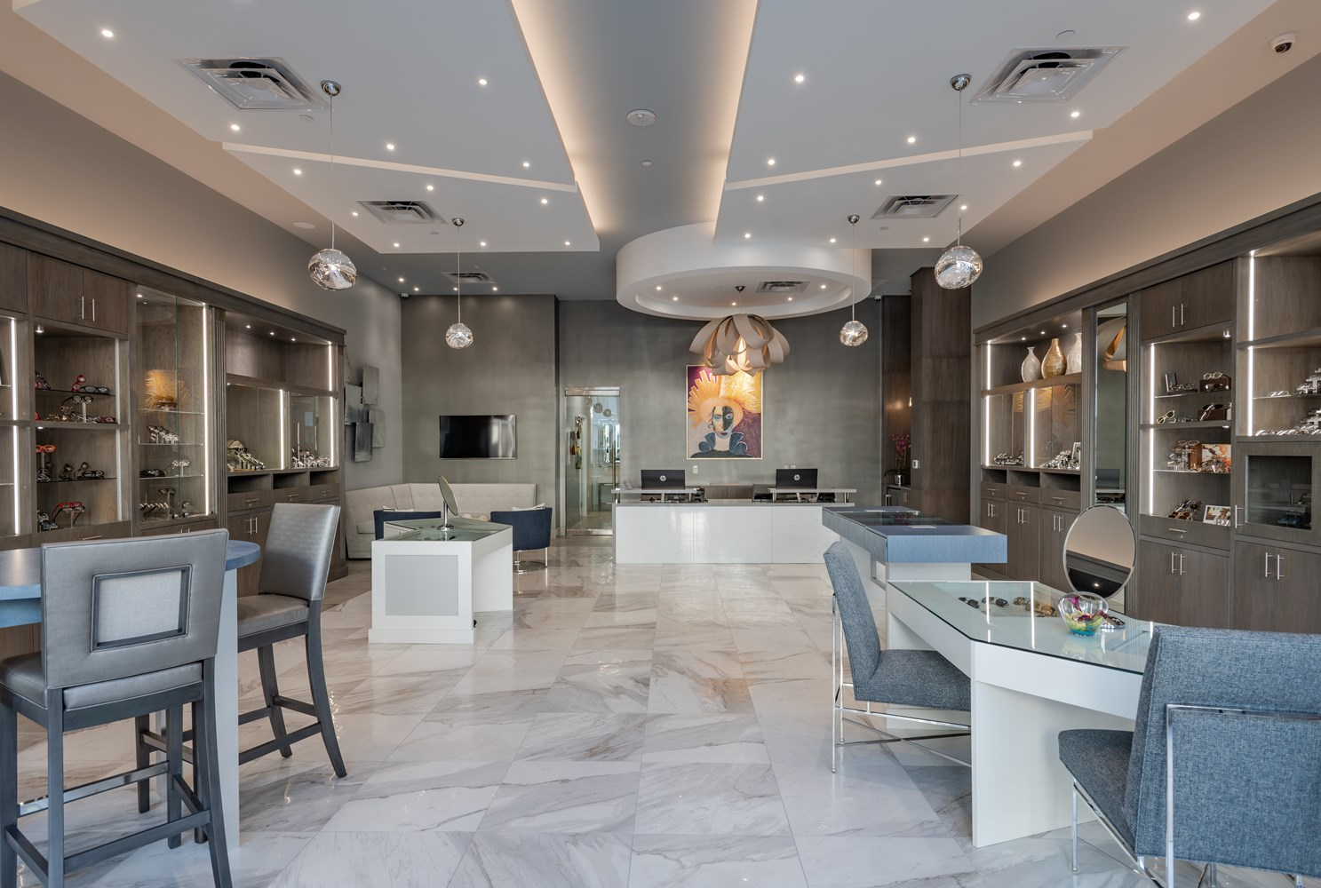 Etonnant Spectacles Showroom Interior Design West Plano Tx
