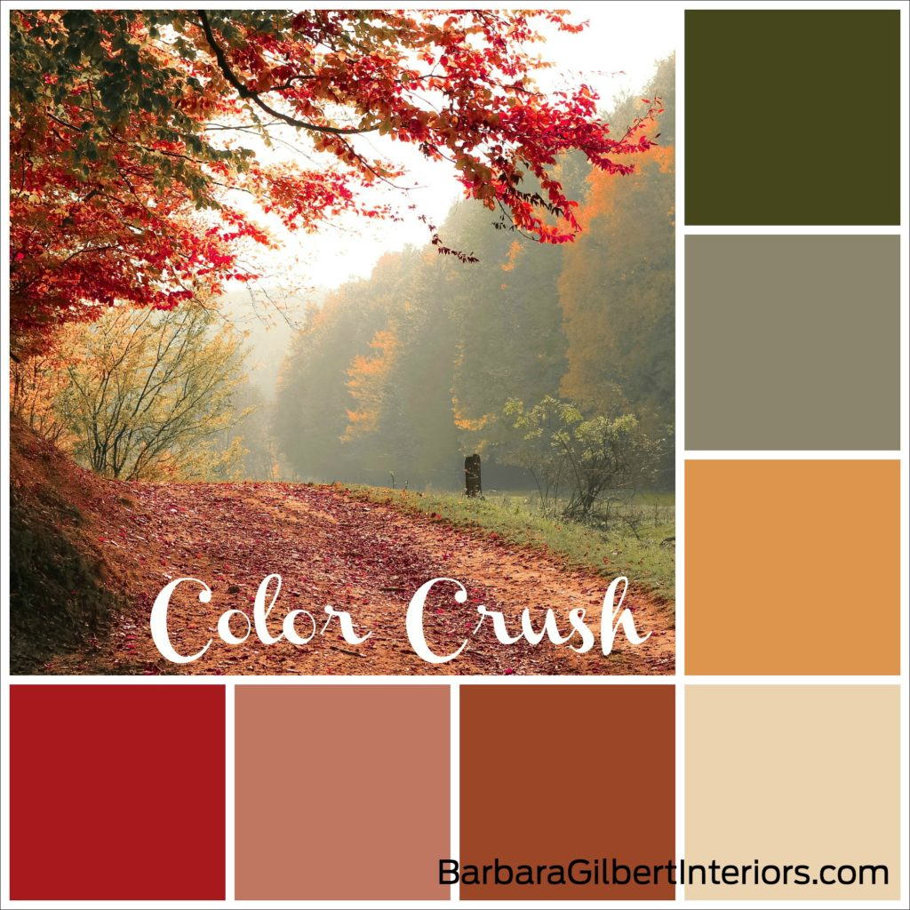 Color Crush: Leaf Peeping | Interior Design Dallas | Barbara Gilbert Interiors