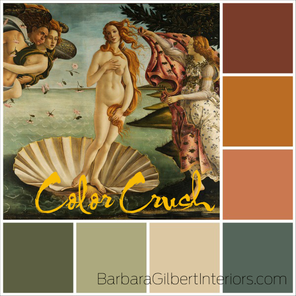 Color Crush: Renaissance Painting | Interior Design Dallas | Barbara Gilbert Interiors