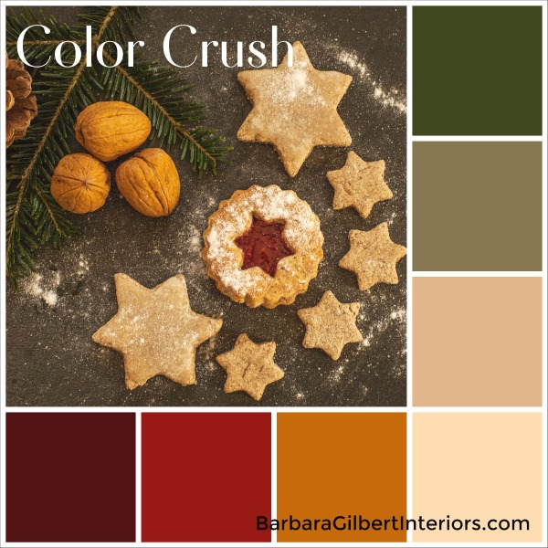 Color Crush: Christmas Cookies | Interior Design Dallas | Barbara Gilbert Interiors