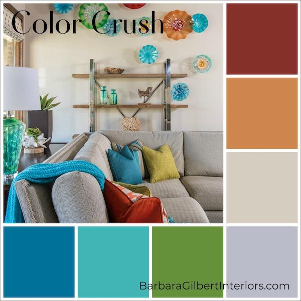 Color Crush: Christmas Cookies | Interior Design Dallas | Barbara Gilbert Interiors